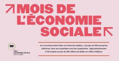 Pôle d'économie sociale Côte-Nord - Mois de l'économie sociale