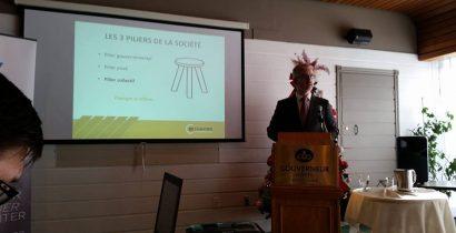 Pôle d'économie sociale Côte-Nord - Conférence Jean Martin Aussant